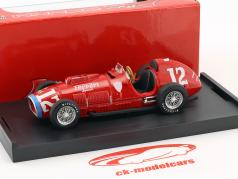 Alberto Ascari Ferrari 375 #12 Rookie Test Indianapolis World Champion F1 1952 1:43 Brumm