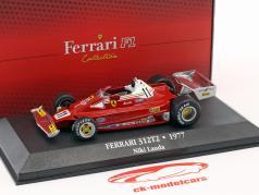Niki Lauda Ferrari 312T2 #11 campione del mondo formula 1 1977 1:43 Atlas