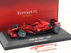 Kimi Räikkönen Ferrari F2007 #6 campeão do mundo fórmula 1 2007 1:43 Atlas