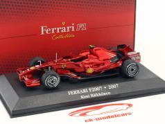 Kimi Räikkönen Ferrari F2007 #6 champion du monde formule 1 2007 1:43 Atlas