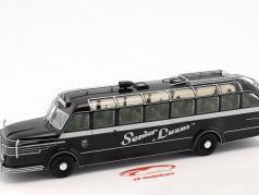 Krupp Titan O80 bus Opførselsår 1951 sort / sølv 1:43 Altaya
