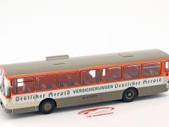 Mercedes-Benz O305 ônibus Deutscher Herold ano de construção 1979 laranja / branco / bege 1:43 Altaya