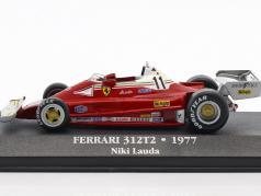 Niki Lauda Ferrari 312T2 #11 世界冠军 公式 1 1977 1:43 Atlas