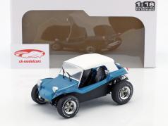 Meyers Manx Buggy Baujahr 1968 blau metallic / weiß 1:18 Solido