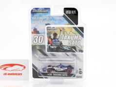Takuma Sato Honda #30 Winner Portland GP Indycar Series 2018 1:64 Greenlight