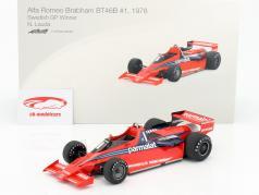 Niki Lauda Brabham BT46B #1 gagnant Suède GP formule 1 1978 1:18 TrueScale