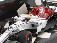 Charles Leclerc Sauber C37 #16 First Home Race Monaco GP F1 2018 1:43 Minichamps