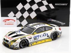 BMW M6 GT3 #98 второй 24h Nürburgring 2017 Rowe Racing 1:18 Minichamps