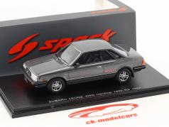 Subaru Leone 4WD Hardtop 1800 RX année de construction 1982 gris argenté métallique 1:43 Spark