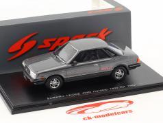 Subaru Leone 4WD Hardtop 1800 RX Baujahr 1982 silbergrau metallic 1:43 Spark