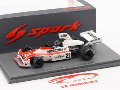 Jacques Laffite Williams FW04 #21 segundo alemán GP fórmula 1 1975 1:43 Spark