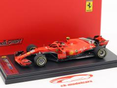 Kimi Räikkönen Ferrari SF71H #7 gagnant USA GP formule 1 2018 1:43 LookSmart
