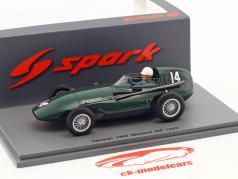 Maurice Trintignant Vanwall VW2 #14 Mónaco GP fórmula 1 1956