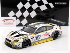 BMW M6 GT3 #99 десятые 24h Nürburgring 2017 ROWE Racing 1:18 Minichamps
