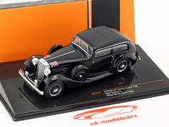 Jaguar SS1 Airline Coupe #99 Rallye Monte Carlo 1935 Sydney H. Light 1:43 Ixo