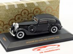 Jaguar SS Airline Coupe année de construction 1935 noir 1:43 Ixo