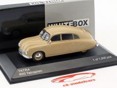 Tatra 600 Tatraplan Baujahr 1948-1952 beige 1:43 WhiteBox