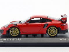 Porsche 911 (991 II) GT2 RS année de construction 2018 gardes rouge 1:43 Minichamps