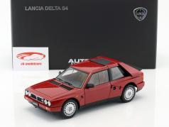 Lancia Delta S4 Год 1985 красный 1:18 AUTOart
