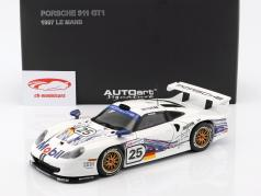 Porsche 911 GT1 #25 24h LeMans 1997 Stuck, Boutsen, Wollek 1:18 AUTOart