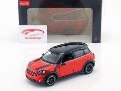 Mini Cooper S Countryman (R60) rosso / nero 1:24 Rastar
