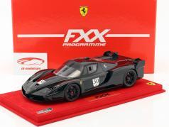 Ferrari FXX Nero DS 1250 #30 nero con vetrina rosso 1:18 BBR