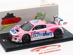 Audi R8 LMS #24 24h Nürburgring 2018 Audi Sport Team BWT 1:43 Spark