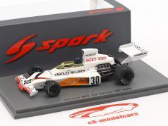 Jacky Ickx McLaren M23 #30 3 ° Germania GP formula 1 1973 1:43 Spark