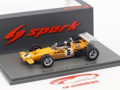 Peter Gethin McLaren M14A #6 Canada GP formula 1 1970 1:43 Spark