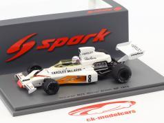 Peter Revson McLaren M23 #8 vincitore Gran Bretagna GP formula 1 1973 1:43 Spark