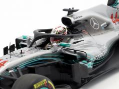L. Hamilton Mercedes-AMG W09 EQ #44 World Champion formula 1 2018 1:18 Minichamps