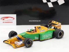 Martin Brundle Benetton B192 #20 3rd Großbritannien GP F1 1992 1:18 Minichamps