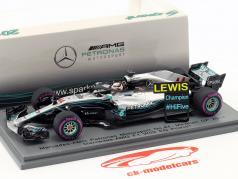 L. Hamilton Mercedes-AMG F1 W09 EQ Power  #44 campione del mondo Mexiko GP F1 2018 1:43 scintilla