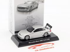 Mercedes-Benz AMG CLK DTM argento 1:64 Kyosho