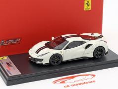 Ferrari 488 Pista anno di costruzione 2018 avus bianco 1:43 LookSmart