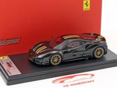 Ferrari 488 Pista anno di costruzione 2018 Daytona nero 1:43 LookSmart