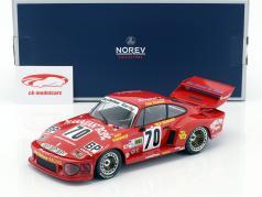 Porsche 935 #70 segundo 24h LeMans 1979 Stommelen, Barbour, Newman 1:18 Norev