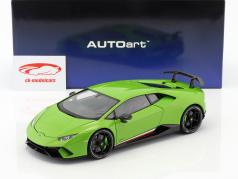 Lamborghini Huracan Performante 築 2017 mantis グリーン 1:18 AUTOart