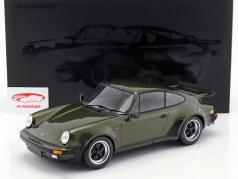 Porsche 911 (930) Turbo year 1977 olive green 1:12 Minichamps
