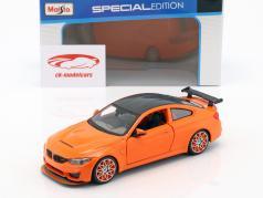 BMW M4 GTS orange 1:24 Maisto