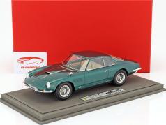 Ferrari 500 Superfast Speciale 1964 Prinz Bernhard von Holland grün metallic mit Vitrine 1:18 BBR