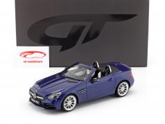 Mercedes-Benz AMG SLC 43 (R172) year 2016 brilliant blue 1:18 GT-Spirit