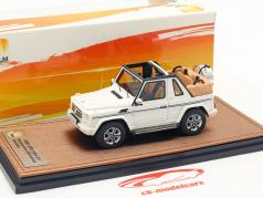 Mercedes-Benz G500 Cabriolet Open Top Final Edition 2013 white 1:43 GLM