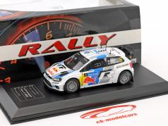 Volkswagen VW Polo R WRC #8 Winner Rallye Finnland 2013 Ogier, Ingrassia 1:43 Direkt Collections
