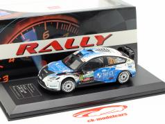 Ford Focus RS WRC 08 #2 Vinder TAC Rallye Belgien 2013 Loix, Miclotte 1:43 Direkt Collections