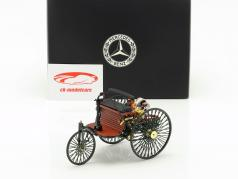 Mercedes-Benz Patent Motorwagen opført i 1886 green 1:18 Norev