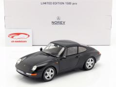 Porsche 911 (993) Carrera Coupe Jaar 1993 zwart 1:18 Norev