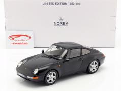 1:18 Norev Porsche 911 Carrera Coupe 1993 blackmetallic 993