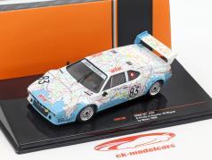 BMW M1 #83 24h LeMans 1980 Pironi, Quester, Mignot 1:43 Ixo