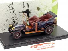 Benz 35/40 Prinz-Heinrich coche año de construcción 1906 azul oscuro 1:43 AutoCult